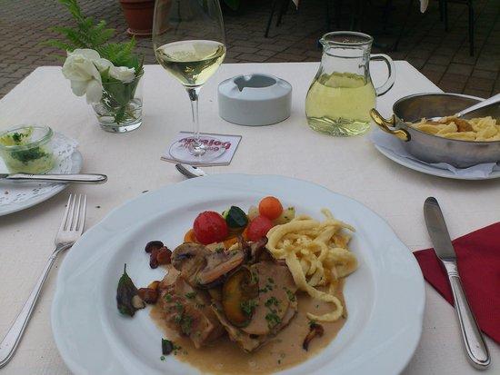 AKZENT Hotel Restaurant Lamm: My food and wine
