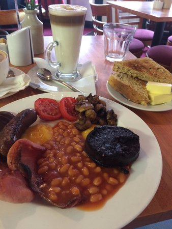 Jelly Roll Cafe: Beautifully cooked breakfast!