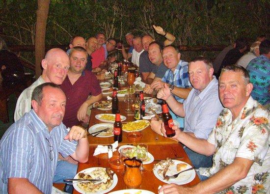 El Corral Del Pollo: 60th birthday meal....