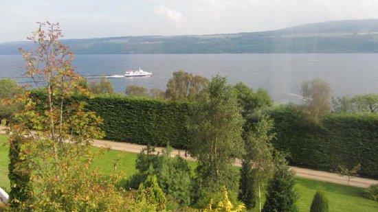 Loch Ness Lodge : View across Loch Ness
