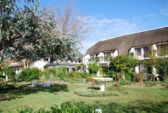 WedgeView Country House & Spa: Prachtig, Wedgeview Stellenbosch in winter