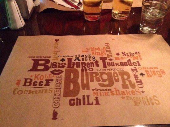 BLT Burger: Menù-blt