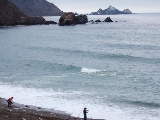 Holiday Inn Express Hotel & Suites Pacifica: Gone fishing