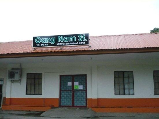 Federalne Stany Mikronezji: Gangnam Street Korean Restaurant