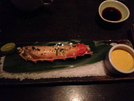 SUSHISAMBA : King crab