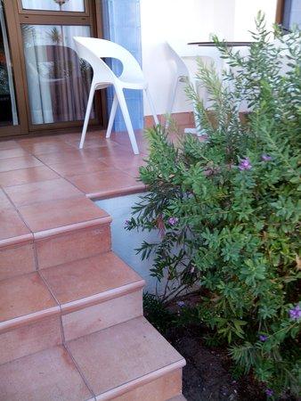 Insotel Hotel Formentera Playa: peligrosa terraza