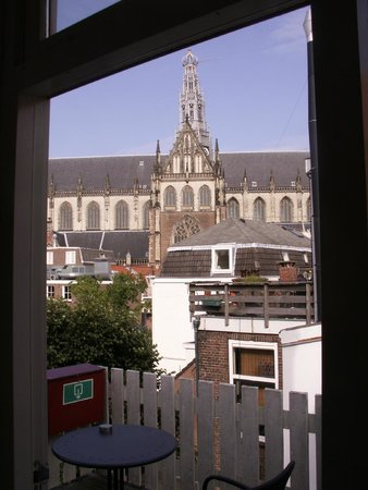 Haarlem Hotelsuites: View from the deck.