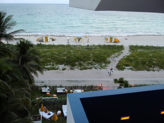 running to the ocean picture of hilton cabana miami. Black Bedroom Furniture Sets. Home Design Ideas