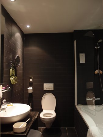 Hampshire Designhotel - Maastricht: toilet and shower room