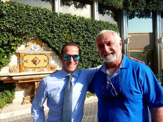 Italy Limousine: Daniele with my partner Robert
