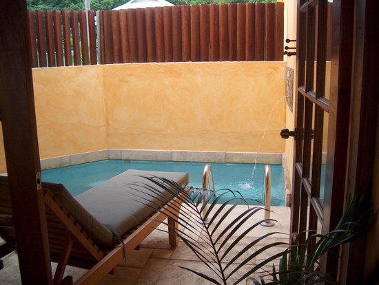 True Blue Bay Boutique Resort: Our Villa