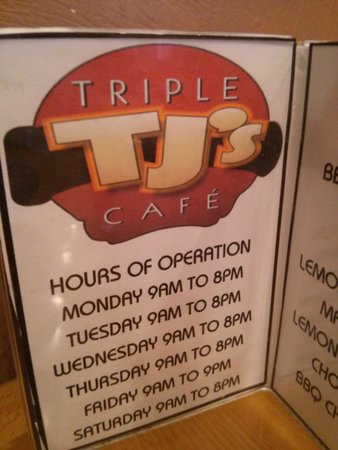 Triple TJ's Cafe