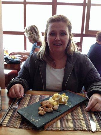 Casa del Sol Machupicchu : Amei o prato de pedra...