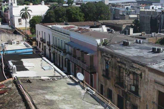 Mercure Comercial Santo Domingo: vista horrivel do quarto 501