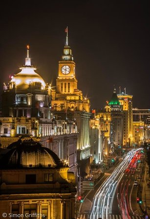 M on the Bund: View from outdoor terrace