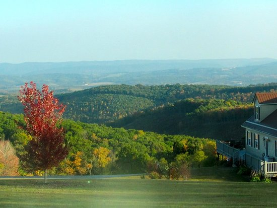 The Historic Lincoln Highway: View from Lincoln Highway -10/02/2014