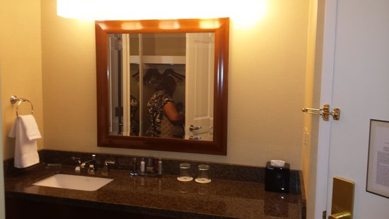 Falls Church Marriott Fairview Park : Double room, nonsmoking
