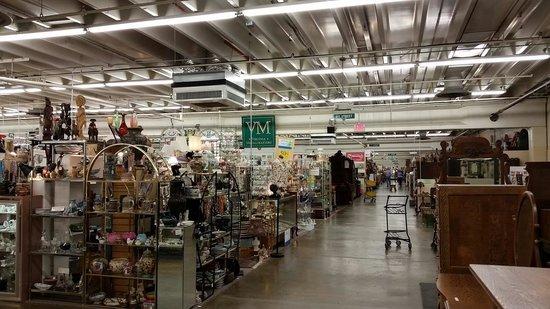 antique mall verona va Just a small corner of this huge complex   Picture of Factory  antique mall verona va
