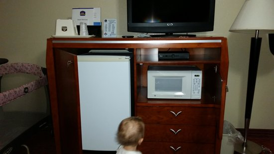 BEST WESTERN Tradewinds: handy fridge and microwave