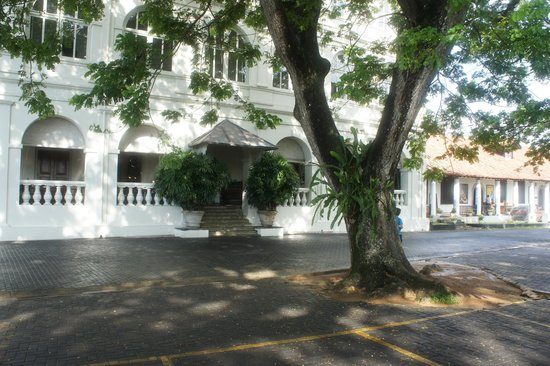 Amangalla: Hotel front