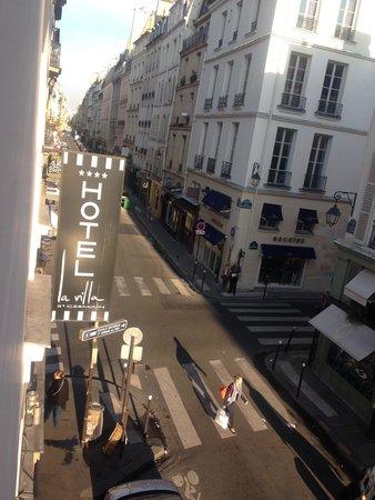 La Villa Saint-Germain: View from our 2nd floor room