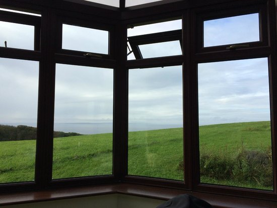 Ballinalacken Castle Country House: view from half-suite