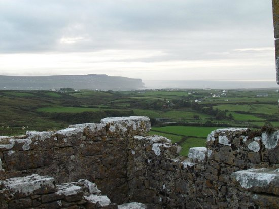 Ballinalacken Castle Country House: view from castle ruins