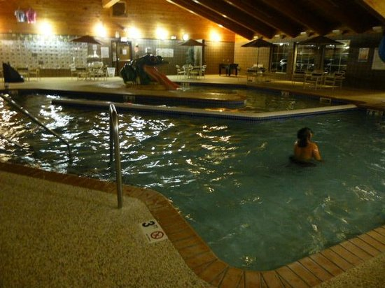 Wagner falls picture of americinn lodge suites for Uniform swimming pool spa and hot tub code 2012 edition