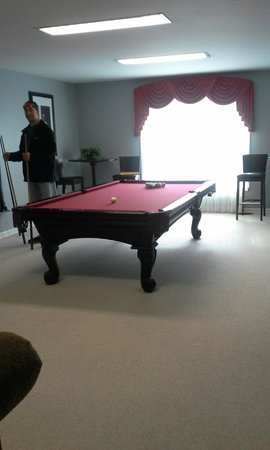 The Village at Pocono: Pool Table
