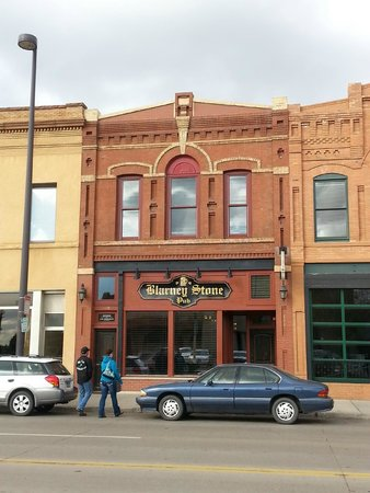 Awesome brick building of the Blarney Stone Pub in Bismarck