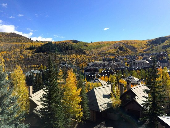 The Pines Lodge, A RockResort: View of Beaver Creek Mountain Village Area