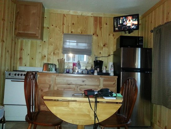 Evergreen Motel: kitchenette