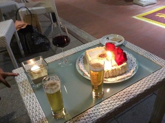 Hotel Puccini: hhappy birthday celebration at Puccini