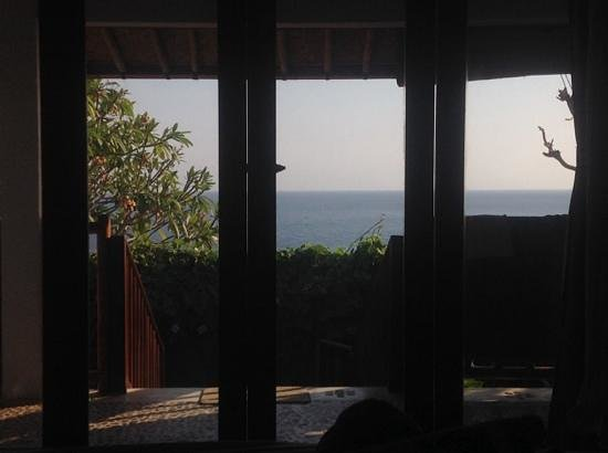 Bedulu Resort: view from our room