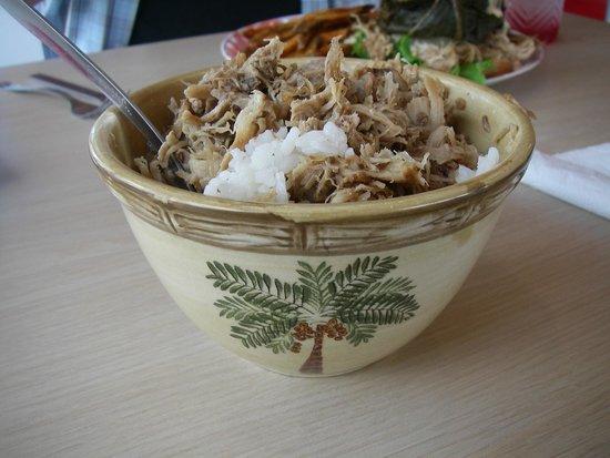 Aloha Lehua Cafe: My beautiful bowl.