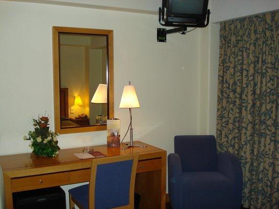 Hotel Roma: Quarto bem confortável