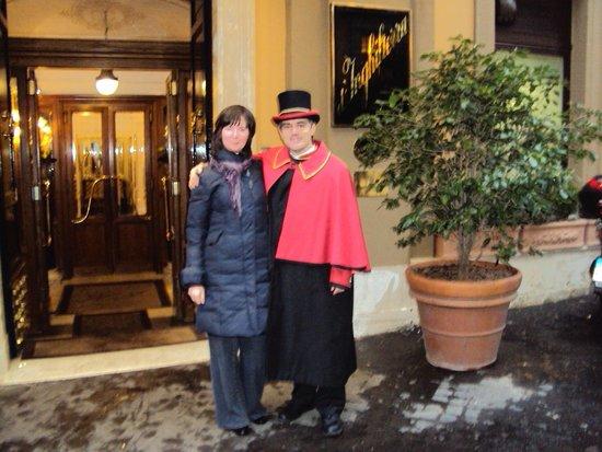 Hotel d'Inghilterra: Отель