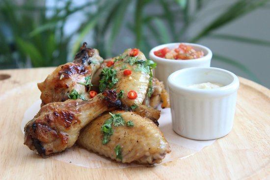 The Republic: Tequila Lime Chicken Wings