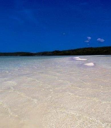 Club Med Columbus Isle: Pink sand ;-)