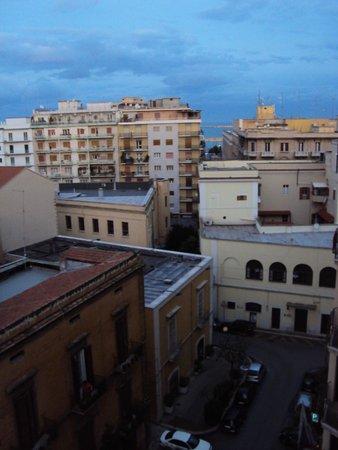 Palace Hotel: вид из окна