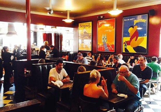Cafe Crepe : Inside dining area
