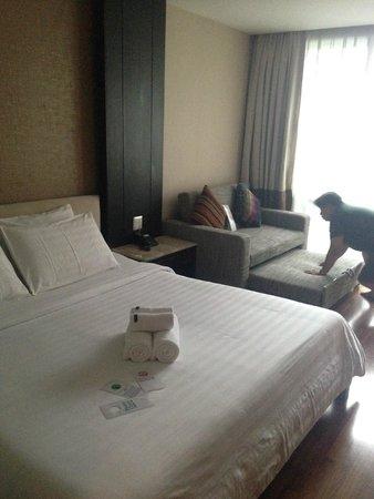Vacio Suite: 很大的床