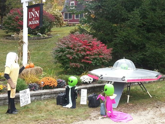 Inn at Jackson: Pumpkin people