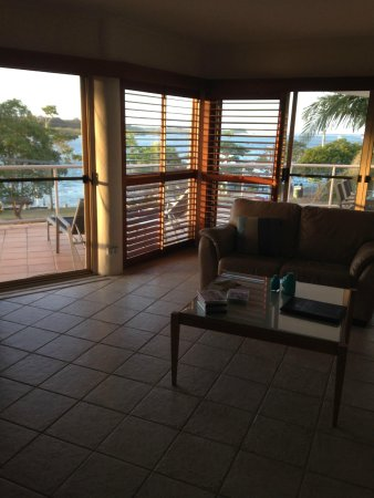 Offshore Noosa Resort: View from the Lounge Room