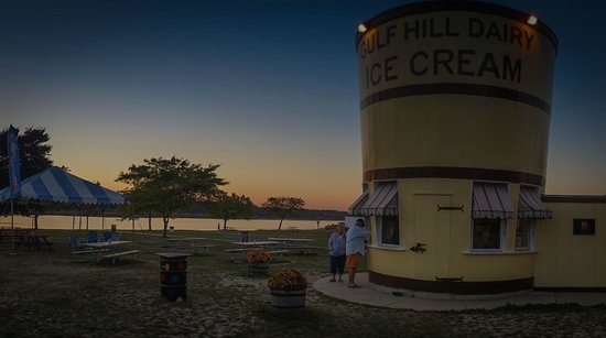 The Bucket at Gulf Hill: Sunset at the Gulf Cup, South Dartmouth, MA