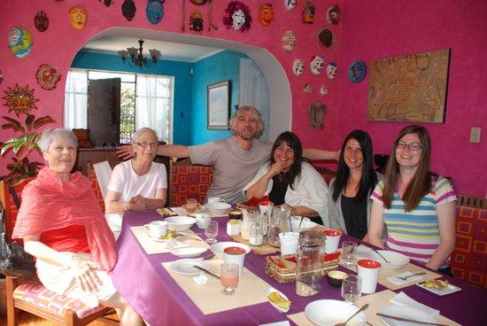 La Casa Amarilla: Comedor