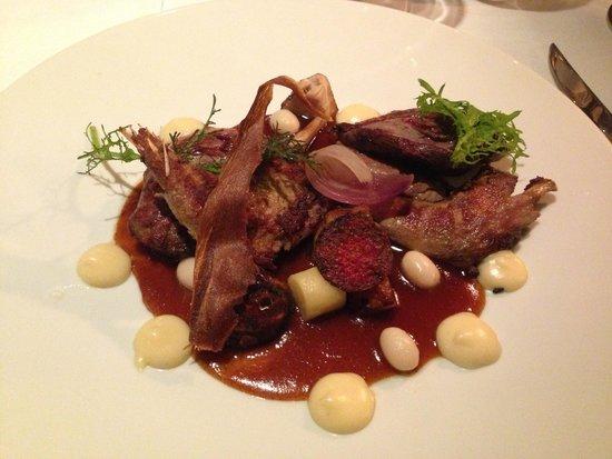 Maison Bleue Restaurant: Grouse, so so good