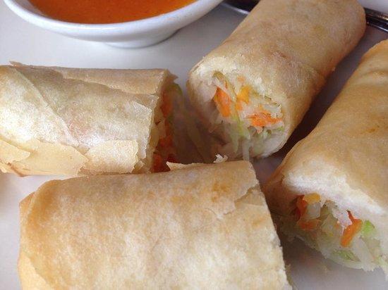Siam Cuisine : Spring Rolls