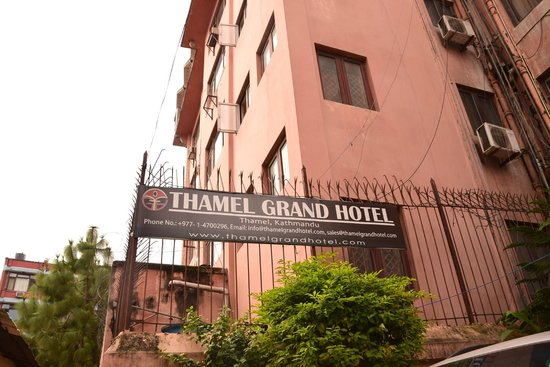 Thamel Grand Hotel: Hotel Exterior