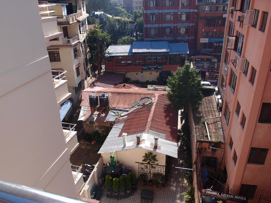 Thamel Grand Hotel: View from room